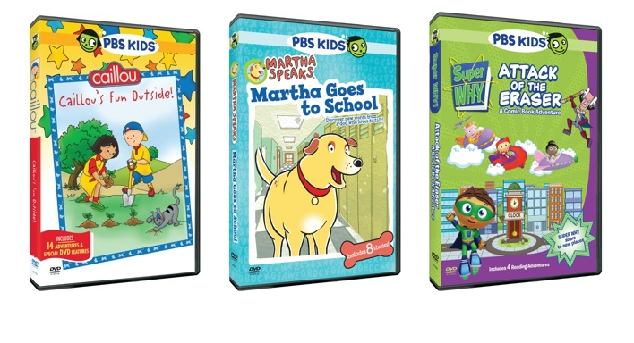 Pbs Kids New Dvd Releases