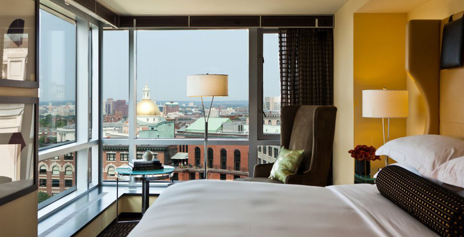 Downtown Boston Hotels Our Stay At The Trendy Eco Friendly Boutique Nine Zero Hotel Review
