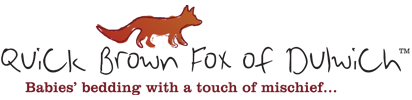 quick brown fox logo green gift guide: quick brown fox of dulwich {love mae fabric wall stickers giveaway $165}