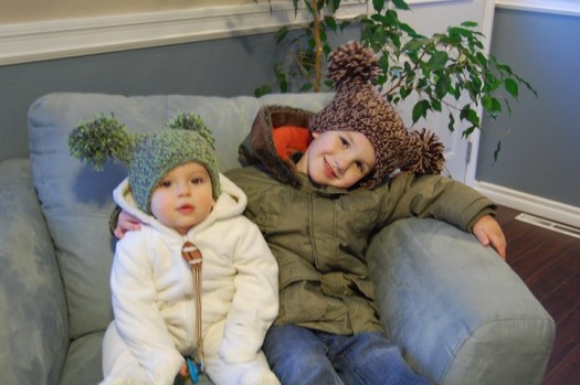 hat 2 525x349 cute capes: handmade outerwear {giveaway}