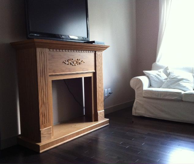 Before Amp After Painted Fireplace Diy
