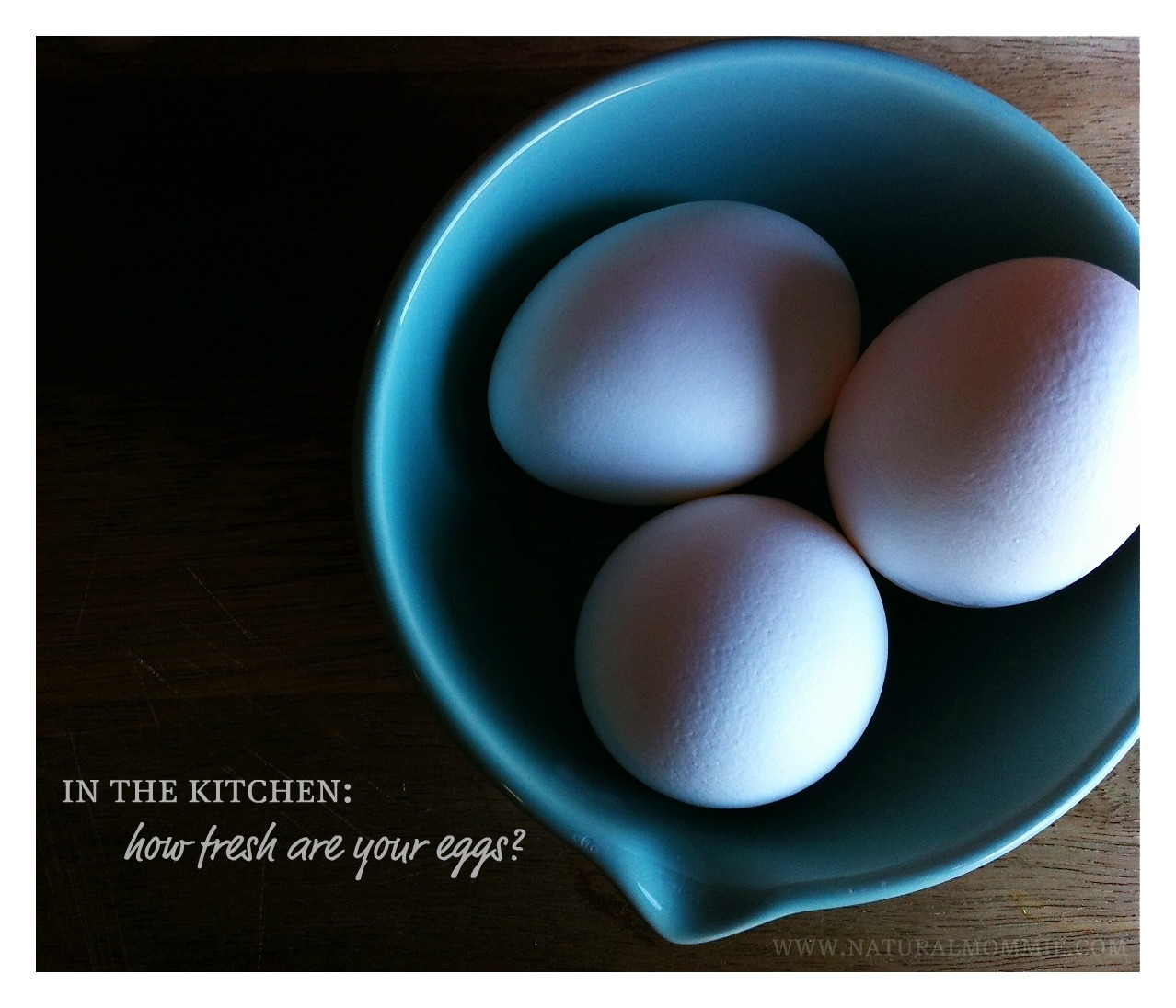 fresh eggs in the kitchen: how fresh are your eggs?