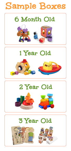 Age Appropriate Toys : Bunchables smart age appropriate toys delivered monthly