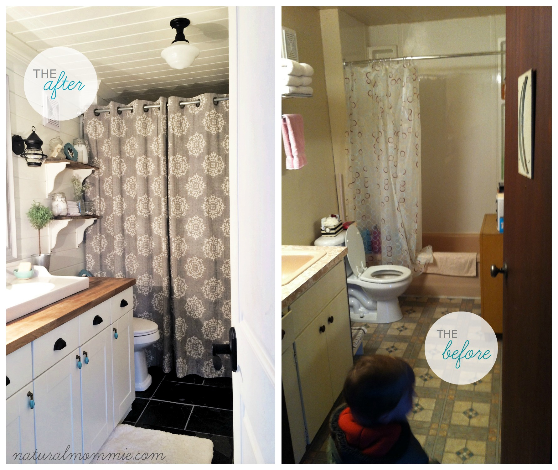 How To Create A Kid Friendly Farmhouse Bathroom Here S