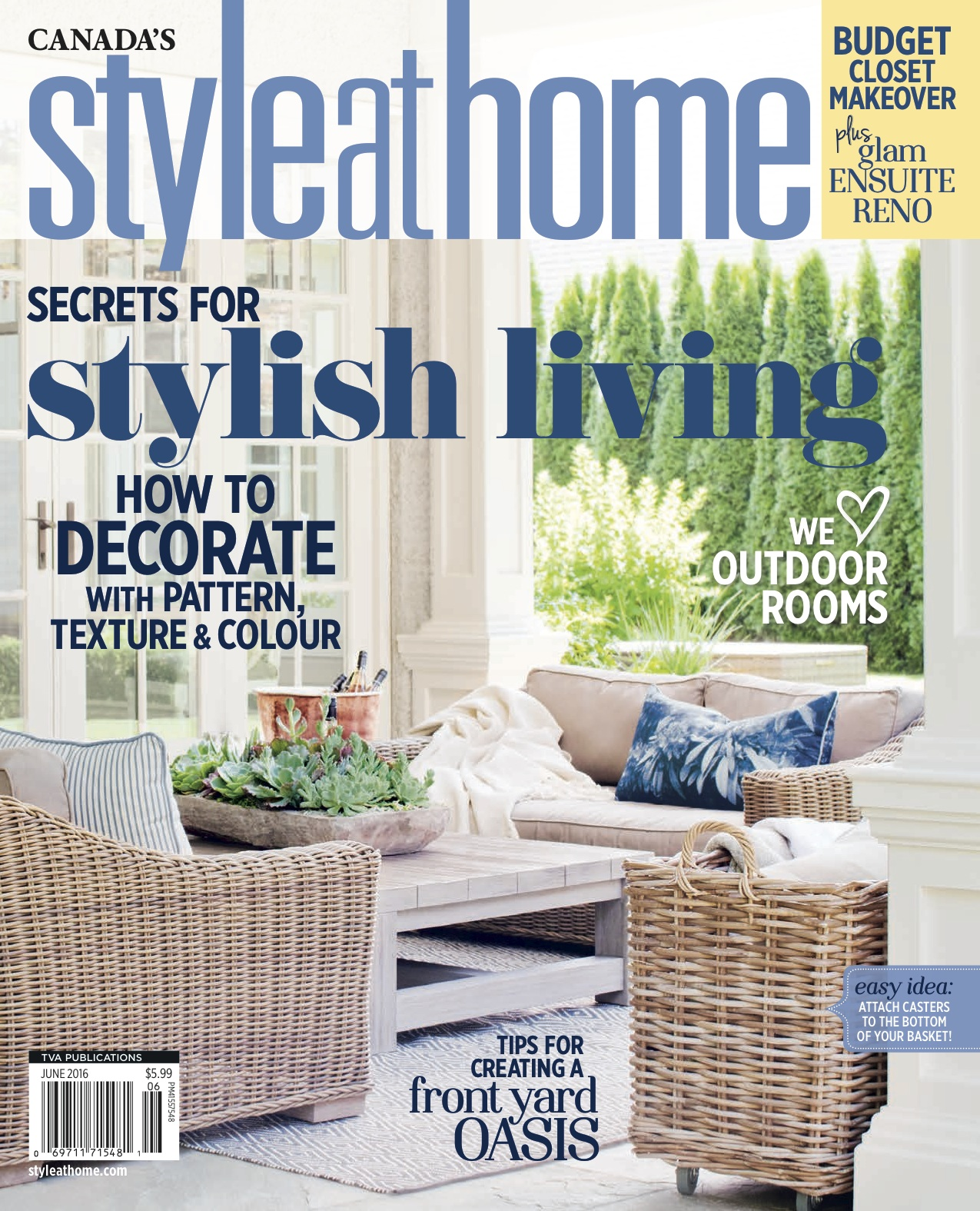 OUR HOME IN STYLE AT HOME MAGAZINE